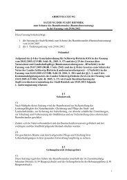 1 Änderung Baumschutzsatzung _ Arbeitssatzung - Stadt Reinbek