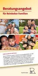 Beratungsangebot für Reinbeker Familien - Stadt Reinbek