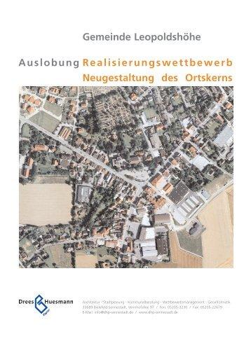 Realisierungswettbewerb Neugestaltung des ... - Dhp-sennestadt.de