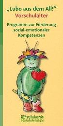 """""""Lubo aus dem All!"""" Vorschulalter - Ernst Reinhardt Verlag"""