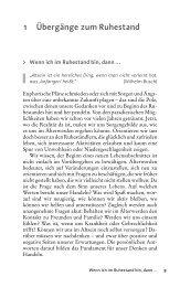 1 Übergänge zum Ruhestand - Ernst Reinhardt Verlag