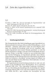 § 4 Ziele des Jugendstrafrechts - Ernst Reinhardt Verlag