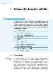 Aufmerksamkeit, Bewusstsein und Schlaf 6 | - Ernst Reinhardt Verlag