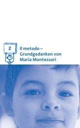 Il metodo – Grundgedanken von Maria Montessori 2