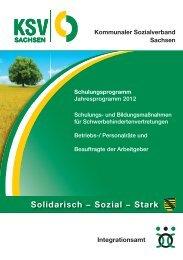 Solidarisch − Sozial − Stark