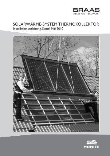 SOLARWÄRME-SYSTEM THERMOKOLLEKTOR - Braas