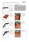 Braas 7GRAD Dach mit Harzer Pfanne F+ und Divoroll Top RU - Page 6