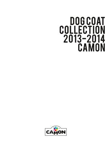 DOG COAT COLLECTION 2013-2014 CAMON
