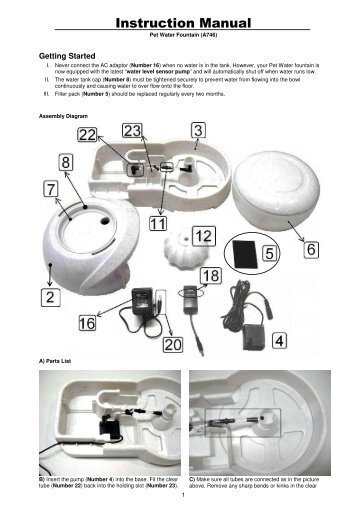 Instruction Manual - Camon