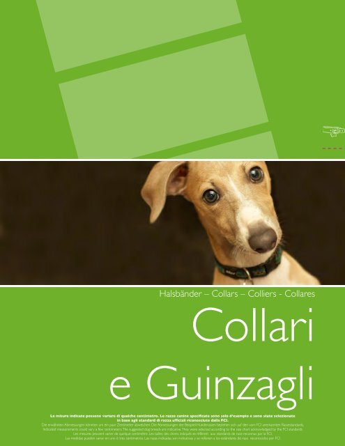 Halsbänder – Collars – Colliers - Collares - Camon