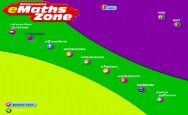 Selected screen shots for Heinemann eMaths Zone 10 for SA