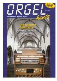 ORGEL - Ahlborn Orgeln