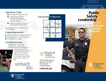 Public Safety Leadership