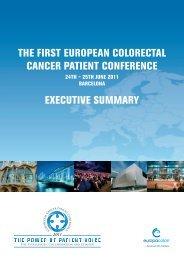 THE FIRST EUROPEAN COLORECTAL CANCER ... - EuropaColon