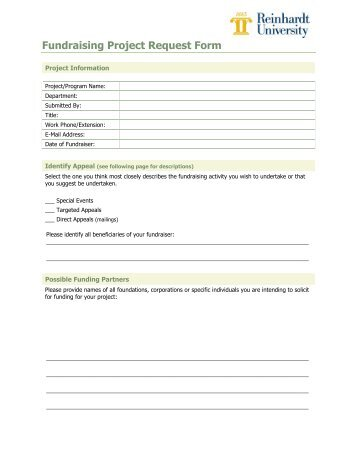 Project Extension Request Instructions And Form  University Of