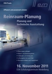 Reinraum-Planung - Reinraum Akademie