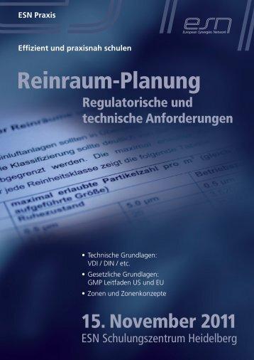 Reinraum-Planung - Reinraum-Akademie