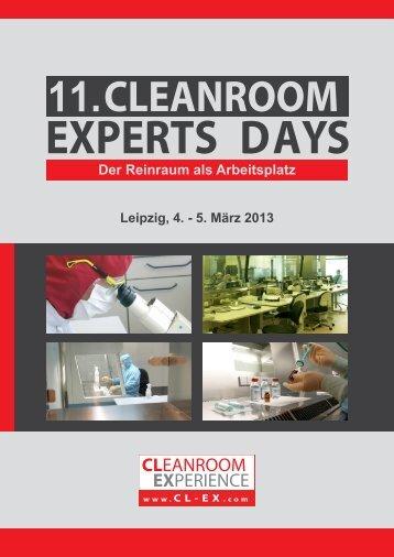 11. CLEANROOM - Reinraum Akademie
