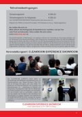 11. CLEANROOM - Reinraum Akademie - Seite 5