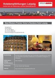 Hotelinformationen - Reinraum Akademie