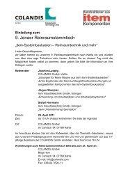 9. Jenaer Reinraumstammtisch - Reinraum Akademie