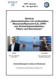 Veranstaltungsflyer - Reinraum Akademie