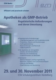 29. und 30. November 2011 - Reinraum Akademie