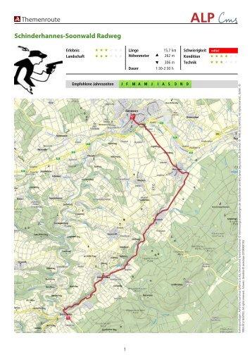 Themenroute Schinderhannes-Soonwald Radweg - Reinsfeld