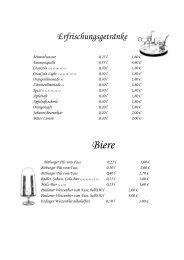 geht es zur Getränkekarte des Landgasthof Kuhl als PDF - Reinsfeld