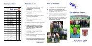 können Sie das Wahlprogramm 2009 der OWL Port als ... - Reinsfeld
