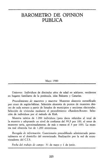 1 - Reis - Revista Española de Investigaciones Sociológicas
