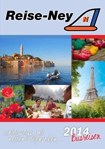 Katalog 2014 als PDF - Reise-Ney
