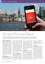Mit dem iPhone auf Reisen - REISE-aktuell