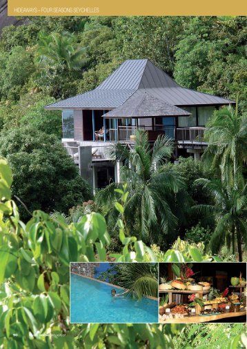 HIDEAWAYS – FOUR SEASONS SEYCHELLES - REISE-aktuell