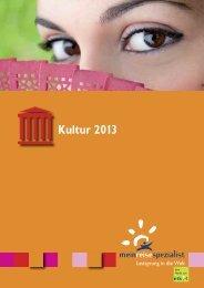 Kultur 2013 - Spillmann