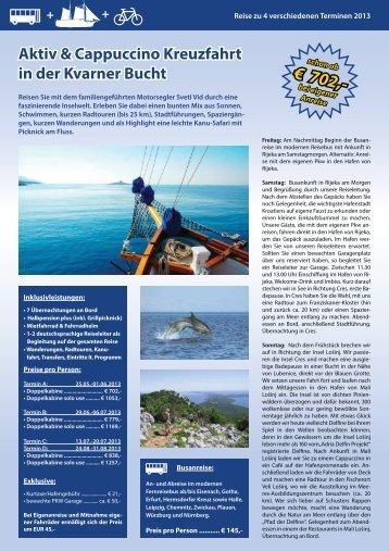 Ausführliche Reisebeschreibung als PDF - Reisejournal on Tour