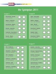 Ihr Spielplan 2011 - Reisemobil Interaktiv