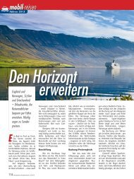 Artikel aus Reisemobil International 3/2013 - Reisemobil Interaktiv