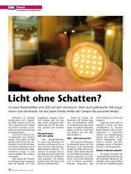 Licht ohne Schatten? - Reisemobil International