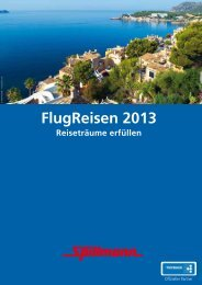 FlugReisen 2013 - Kunstreisen