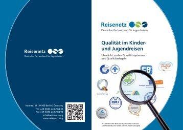 Qualität im Kinder und Jugendreisen - Bundesverband Individual ...