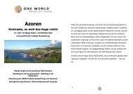 Detailinformation Azoren Kontraste soweit das Auge reicht 2013