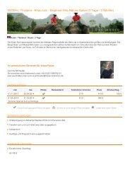200224 | Thailand - Khao Lak - Elephant Hills Nature Safari (3 Tage ...