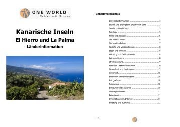 El Hierro und La Palma 2014
