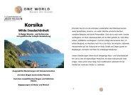 Detailinformation Korsika - Wilde Inselschönheit 2014
