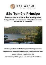 Das versteckte Paradies am Aequator 2013 - ONE WORLD Reisen ...