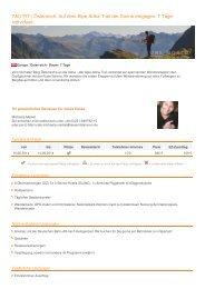 Österreich: Auf dem Alpe-Adria-Trail der Sonne entgegen. 7 Tage ...