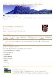 200434 | Borneo - Besteigung des Mount Kinabalu (3 Tage/2 Nächte)