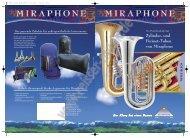 Miraphone Tuba-Katalog - Reisser Musik