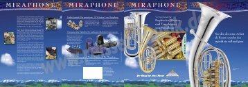Miraphone Prospekt - Reisser Musik